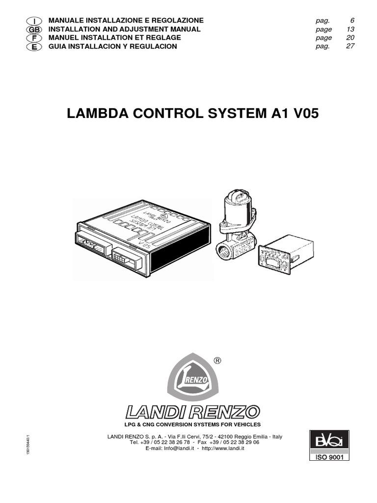 lcsv05 en ignition system switch rh es scribd com Landi Renzo USA Landi Renzo USA