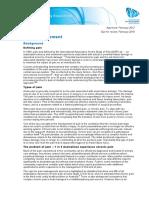 Advocacy Position Pain Management 2012
