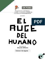 El Auge Del Humano - Pressbook