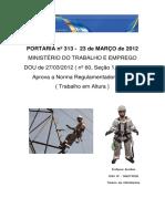 01 - Apostila NR 35 - IPESP - Eletropaulo Final Atualizada 12março2013