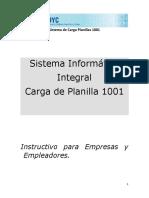 Guia Actualizacion Planilla 1001