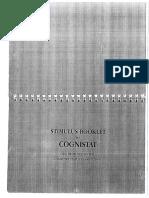 Cognistat Stimuli