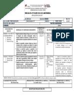 Cronograma de Actividades Para El Examen Remedial-biologia