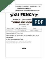 Proyecto de Fencyt Coco