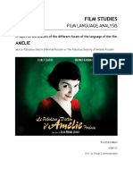 Amelie Film Language Analysis