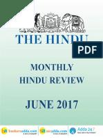 The Hindu Review June 2017