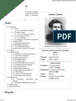Antonio Gramsci - Wikipedia, La Enciclopedia Libre