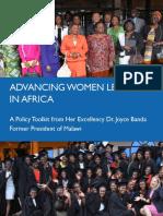 Advancing Women Leaders in Africa
