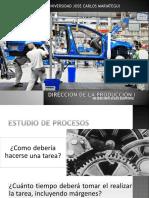 DIRECCIÓN DE LA PRODUCCIÓN I