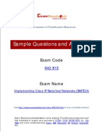 642-813 Questions and Answers