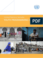 UN Youth Programming in Somalia - Report 2016-17