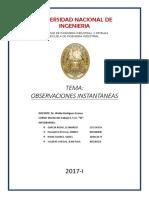 OBSERVACIONES-INSTANTANEAS