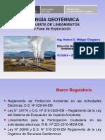 Energia Geotermica Lineamientos