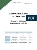 MAN-45!1!03-01 Manual de Calidad SGC SisBiblio