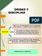 Autoridad y Disciplina 2017