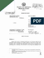 Philippine Stock Exchange vs. Litonjua