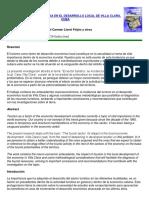 Lloret, MaCarmen-El Turismo y Su Incidencia en El Desarrollo Local de Villa Clara (2007)