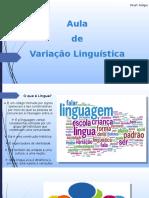 Silde Variação Linguística