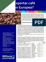 Como exportar Café a EU.pdf