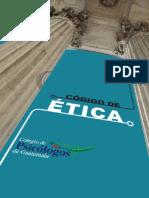 Código de Ética. Colegio de Psicólogos de Guatemala