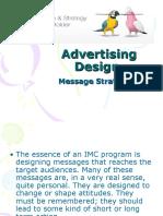 Advertising Design -Message Strategies