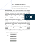 Proceso de La Administraciã n Estratã Gica Resumen[1]