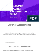 Customer Success the Definitive Guide