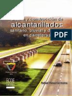 Indice Diseño y Construcción de Alcantarillados 1ra Edición
