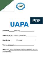 tarea 1 de fundamento y estructura del curriculo dominicano.docx