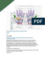 Reflexología Mapa de palma de las manos y técnica especial.docx
