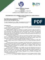 Coloquio-2014 - DESEMPENHO DOS LUBRIFICANTES SÓLIDOS NA USINAGEM DA LIGA Ti-6Al-4V