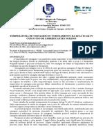 Coloquio-2014- Temperatura de Usinagem No Torneamento Da Liga Ti-6al-4v Com o Uso de Lubrificantes Solidos