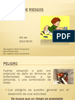 Factores de Riesgos - Peligros