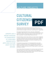 Cultural Citizenship Survey