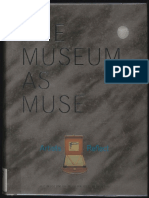 McShine Kynaston the Museum as Muse Artists Reflect 1999