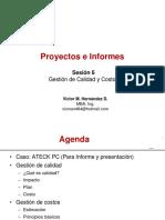 Proyectos 6 Gestion de Calidad y Costos