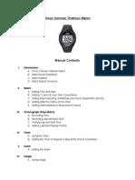 timex ironman triathlon 2- google docs