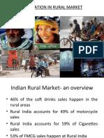 Innovations in Rural Markets