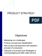 Product Strategy in Rural Marketing