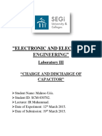 Charging and Discharging of a Capacitor
