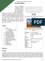 wiki, Misiones jesuíticas guaraníes
