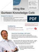 Implementing the Gurteen Knowledge Cafe