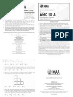 2015 amc10 a