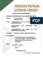 Informe Problemas Construccion en El Peru