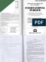 DERECHO INTERNACIONAL PUBLICO - GUIA ESTUDIO