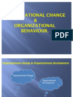 Ppt on Organisational Change1