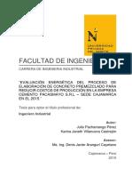 Peru - Evaluación Energética Del Proceso de Elavoracion de Concreto