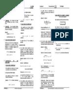Algebra - ecuaciones