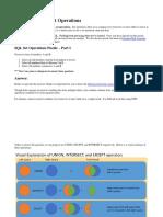 SQL Server and Set Operations