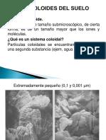 Clase 9. Coloides Del Suelo 1